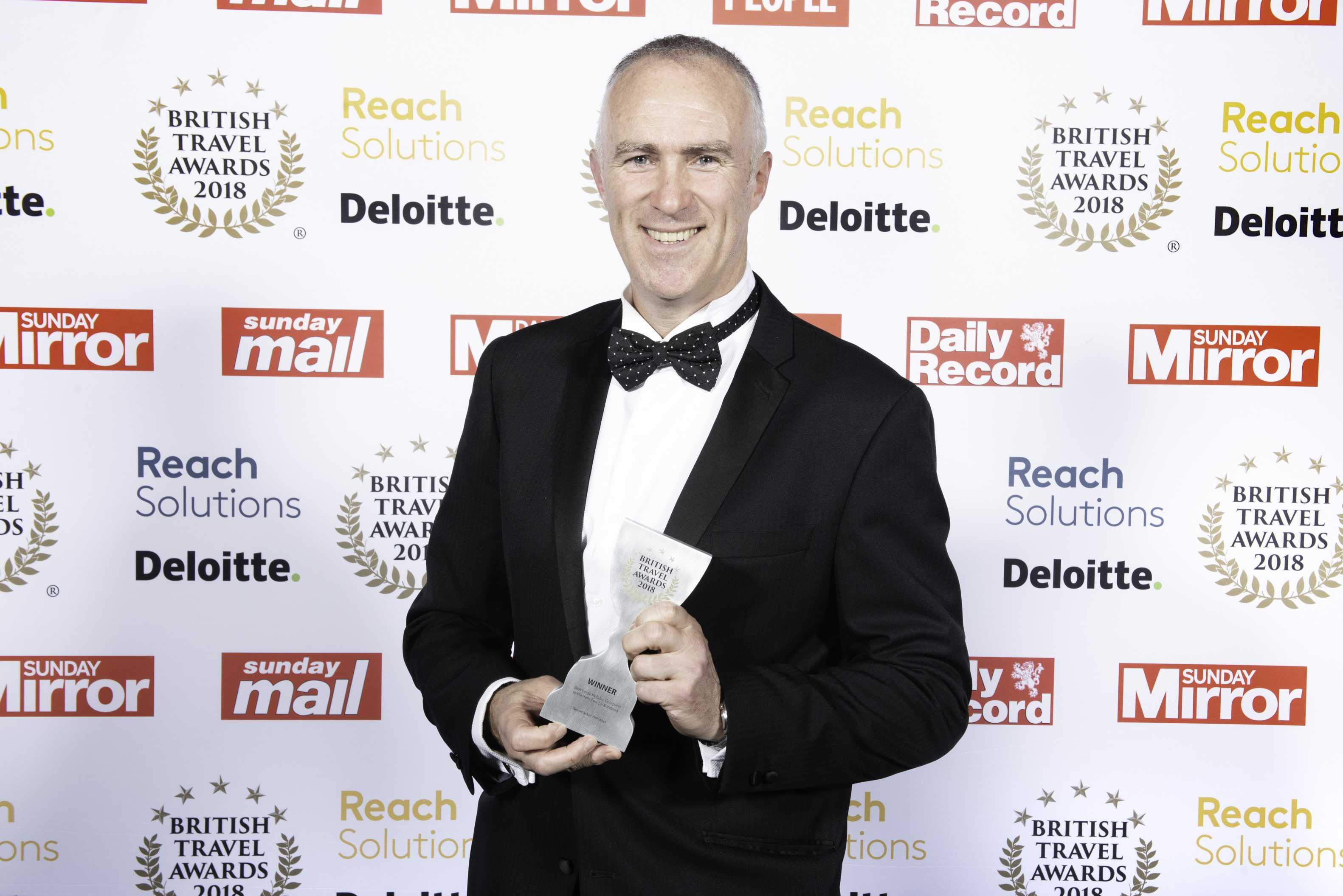 Newmarket Holidays award photograph